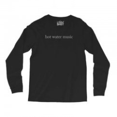 Hot Water Music Shirt General Electric Stove Wiring Diagram Custom Long Sleeve Shirts By Tee Shop Artistshot