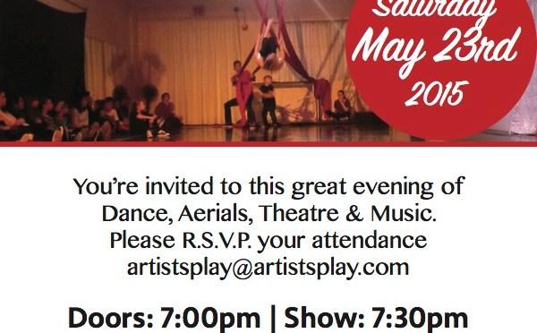 Artists' Play … Cabaret!