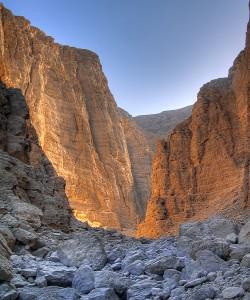 Wadi Luab, Musandam, Oman