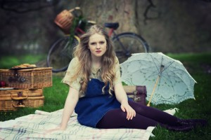 """""""The girl having the picnic is an illustration of another indulgent day of creativity - this was on a styled shoot run by Aspire Photographic Training."""""""