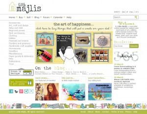 Homepage of Little Majlis