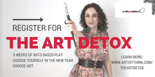 The Art Detox on Artist Strong