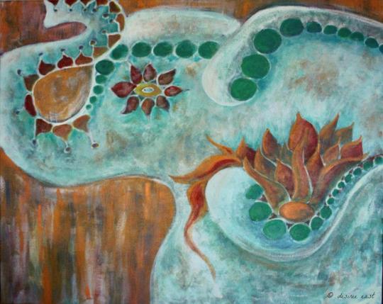 Creative Spirit Desiree East on Artist Strong