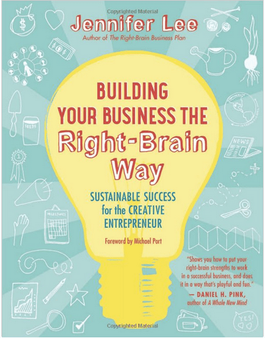 Book Review: Building Your Business The Right Brained Way on Artist Strong