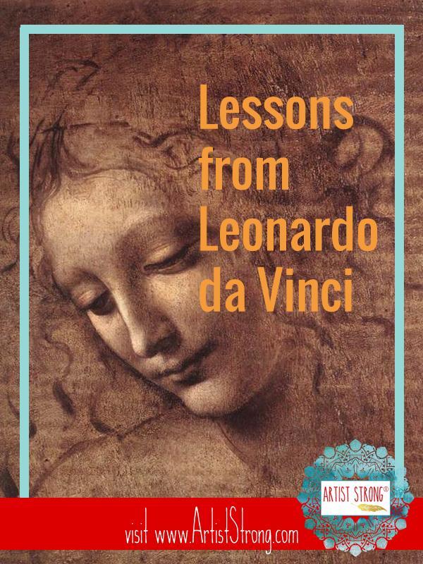 art history, leonardo da vinci, free art lessons, art resources