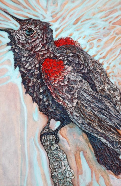 Meet 3 artists on Artist Strong whose strength come from working in mixed media.