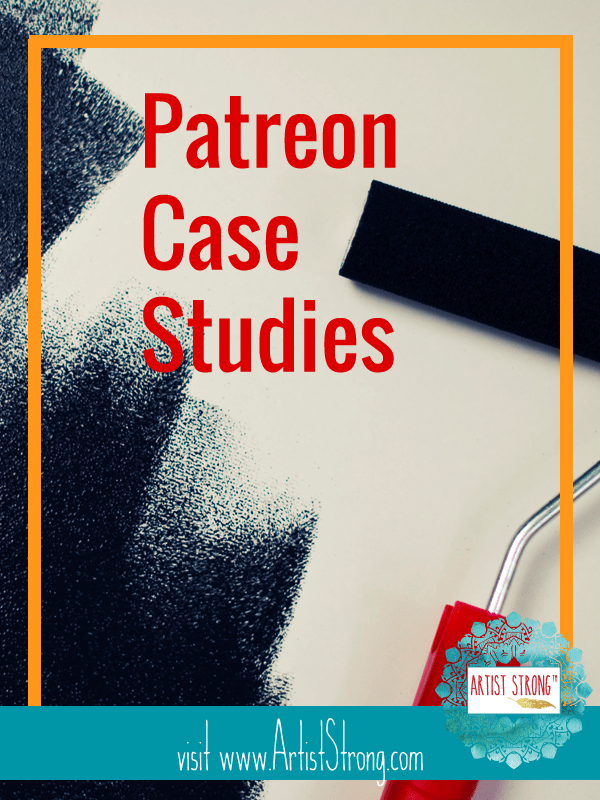 Let's look at artists building their community (and income) using Patreon.