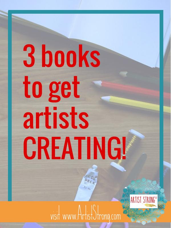 creativity books, books on creative block, art resources
