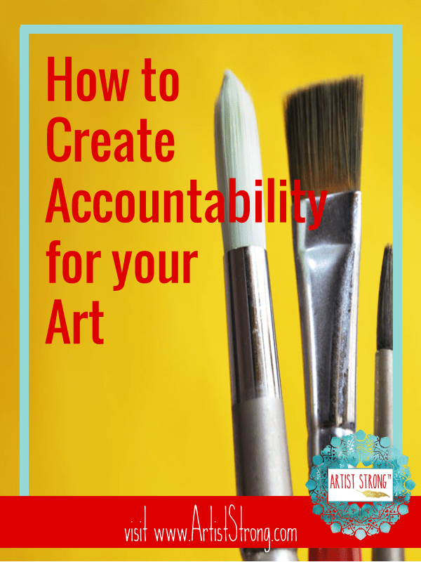 How can you keep yourself accountable to your art? Try this simple and easy to use tool.