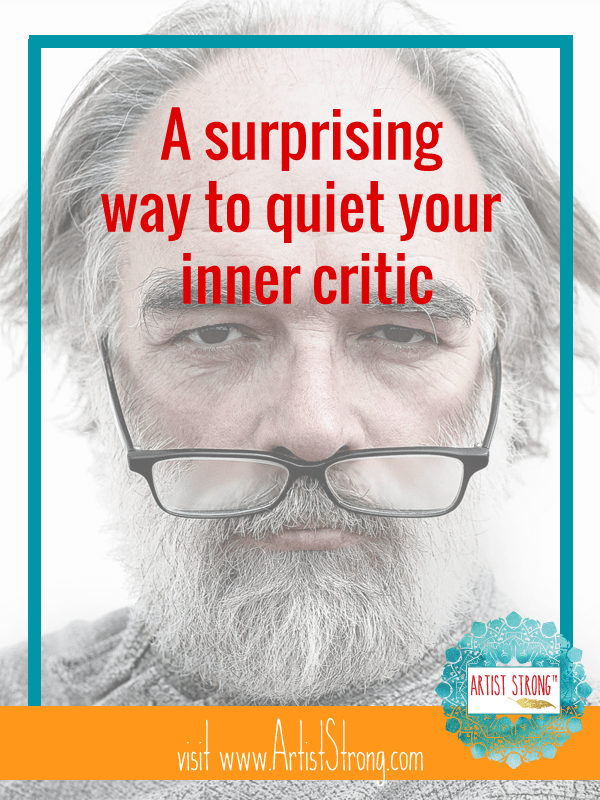 Learn a surprising solution for quieting your inner critic.