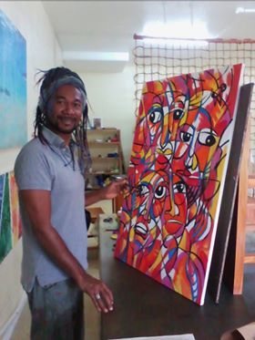 Lambert Ho is an artist based in Fiji's capital Suva. Lambert is of Fijian-Chinese heritage & has been a creative force on the Pacific Art scene for 3 decades.