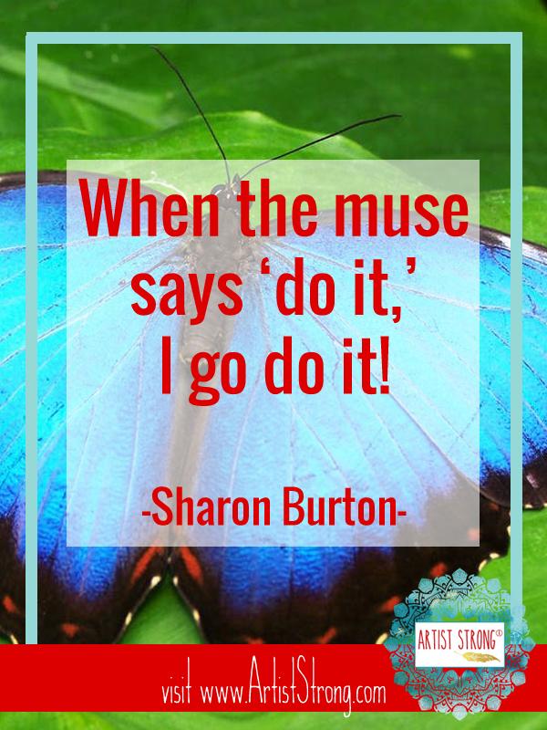 SharonBurton, Artists in DC, DC area artists, creative spirit, artist interview, art resources