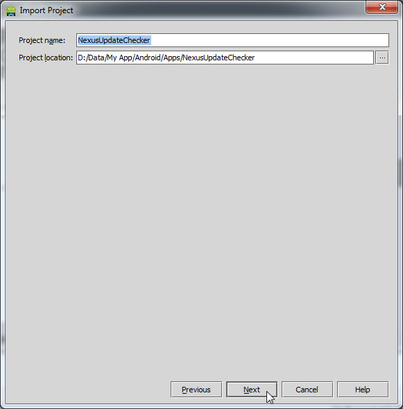Android Eclipse to Android Studio 8