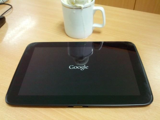 [Review] Nexus 10 Tablet ไซด์ 10 นิ้ว จาก Google (First Impression)