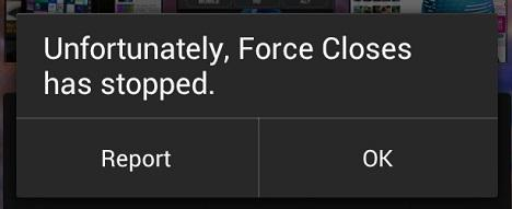 Android Force Close
