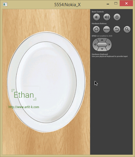 Dish - Android app