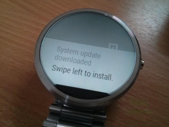 System update notification แจ้งให้ทราบเมื่อพร้อมอัพเดต