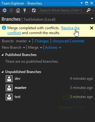เมื่อ Merge Branch แล้วเกิด Conflict