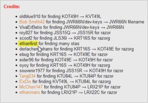 Nex7 (2013) Hunter list