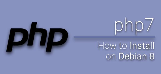 [How to] วิธีติดตั้ง php7 บน Linux Debian 8 (Jessie)