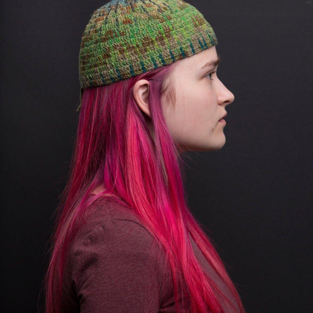 Tija Crochet - Green Hat