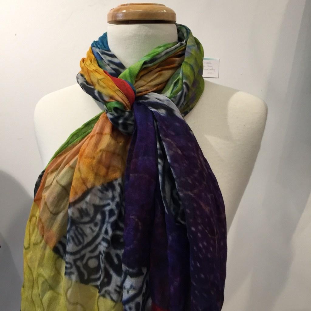SplashScarf-CindyGrisdela Art Quilts