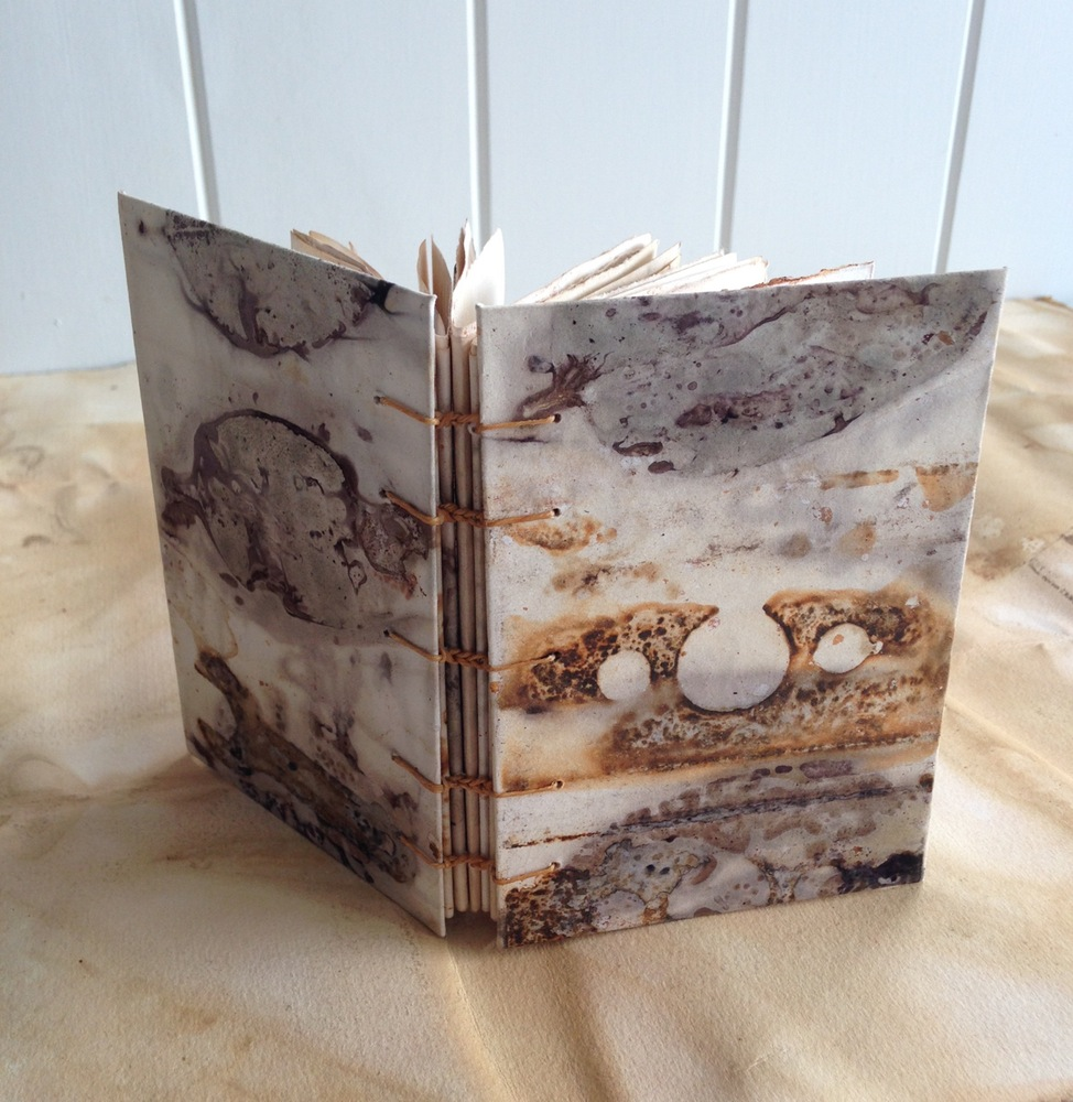 Gone Rustic Studio - Botanical Dyed Journal