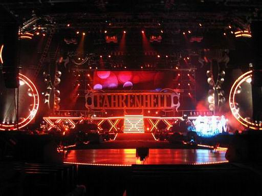 Fahrenheit World Tour Concert 2008 Hong Kong  Concert