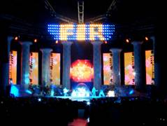 3d Bookcase Wallpaper F I R Tenth Planet Tour Taipei Concert Stage Design