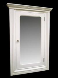 St Carmen Recessed Medicine Cabinet / White finish