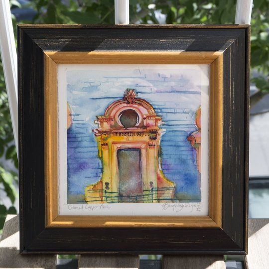 013 ACEO Copper Arch Detail 01 - Front