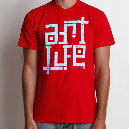Self-Titled Tee Red