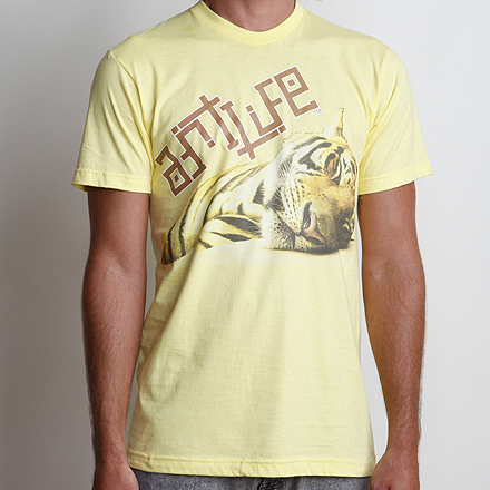 Year of the Tiger Tee Lemon