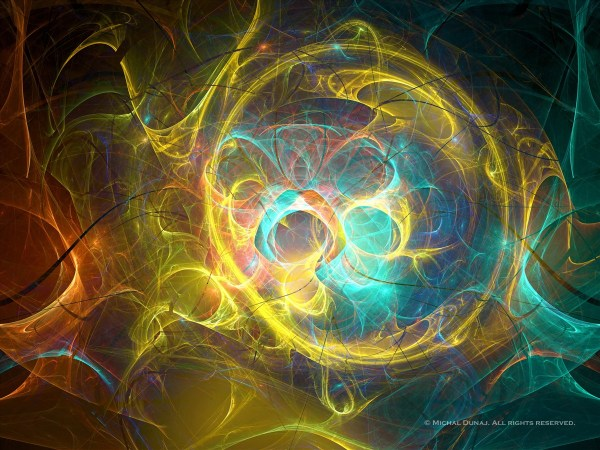 Digital Abstract Fractal Art