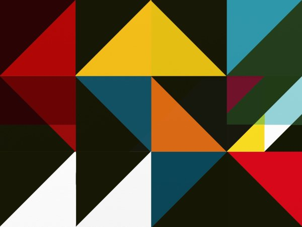 Painting Digital Geometric Abstraction Rabi Roy - Art Limited