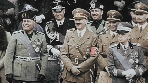 Image result for hitler and mussolini