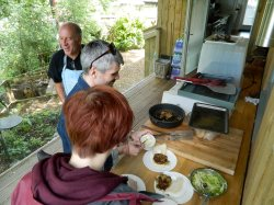 Barbeque at the Water Tower Restaurant