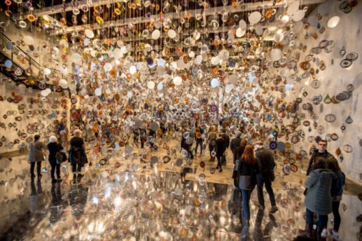 Nick Cave exhibit opening at Mass MoCA