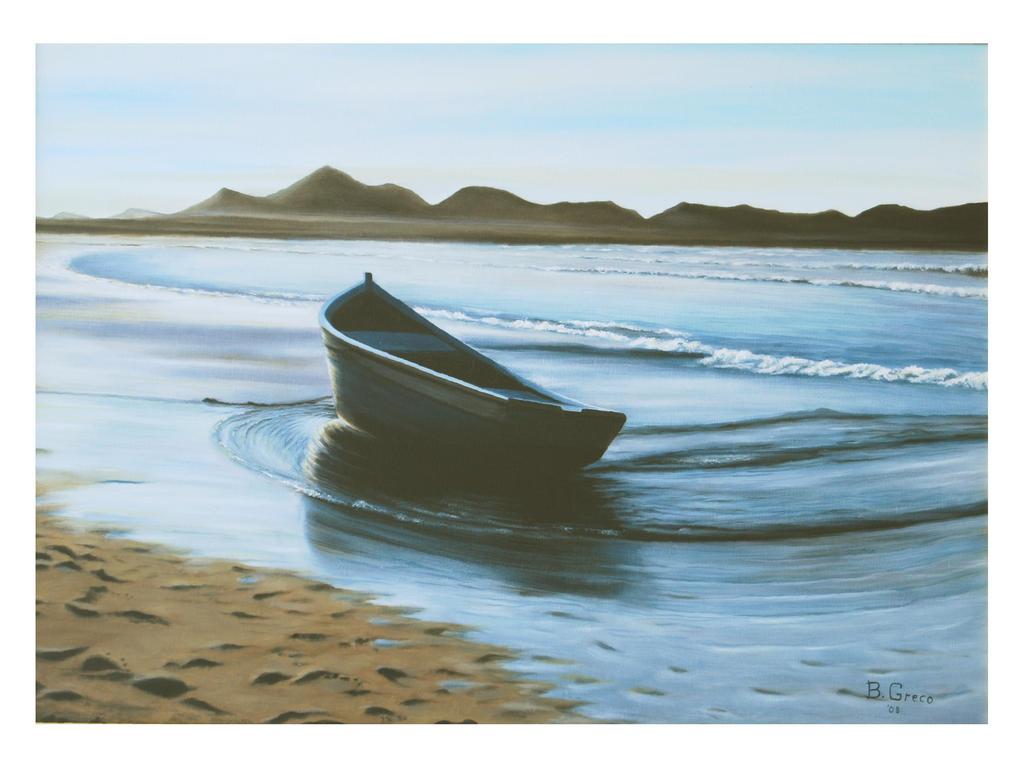 Barca  vendita quadro pittura  ArtlyNow