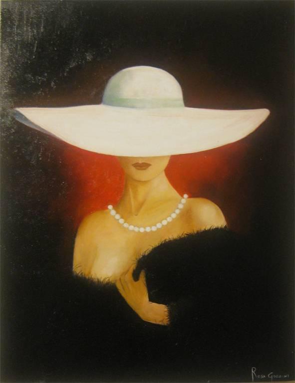 Il cappello  vendita quadro pittura  ArtlyNow
