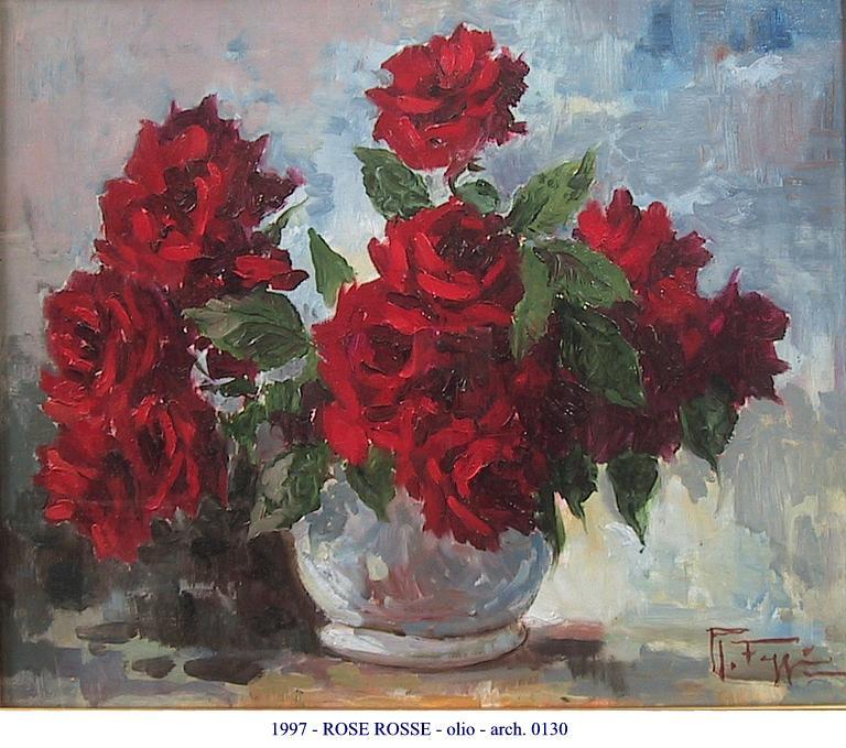 ROSE ROSSE  vendita quadro pittura  ArtlyNow