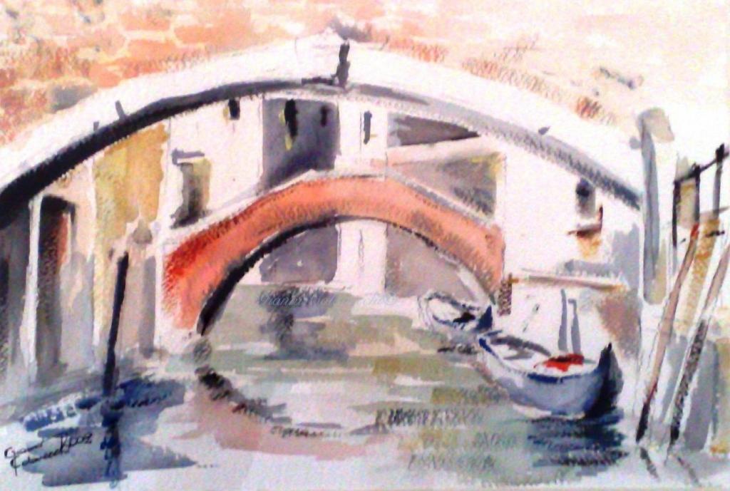 Ponti di Venezia  vendita quadro pittura  ArtlyNow