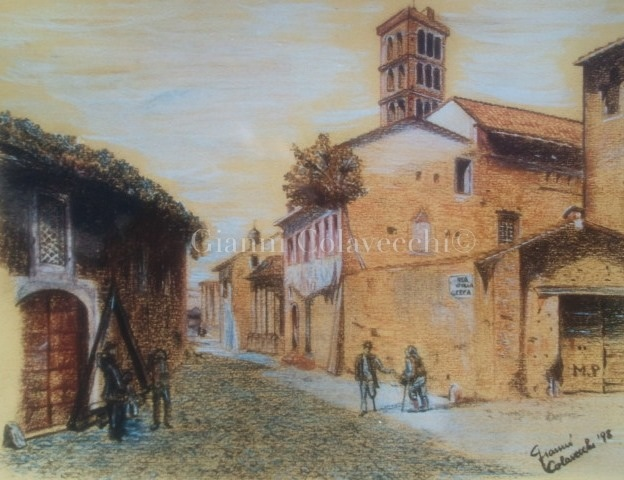 Roma sparita  vendita quadro pittura  ArtlyNow