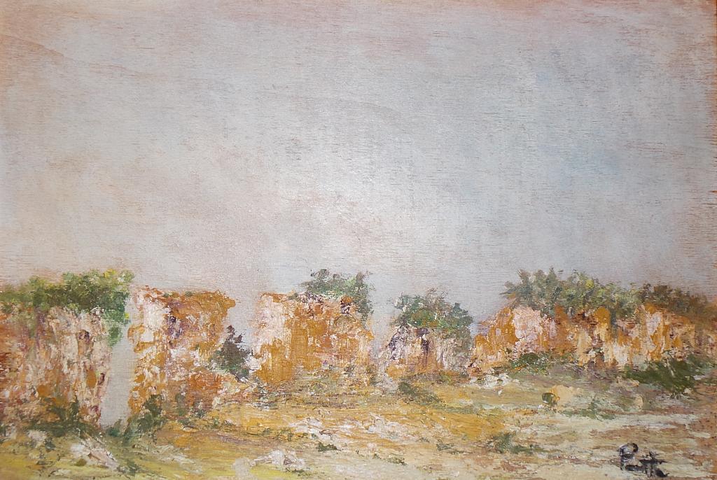 paesaggio rupestre  vendita quadro pittura  ArtlyNow