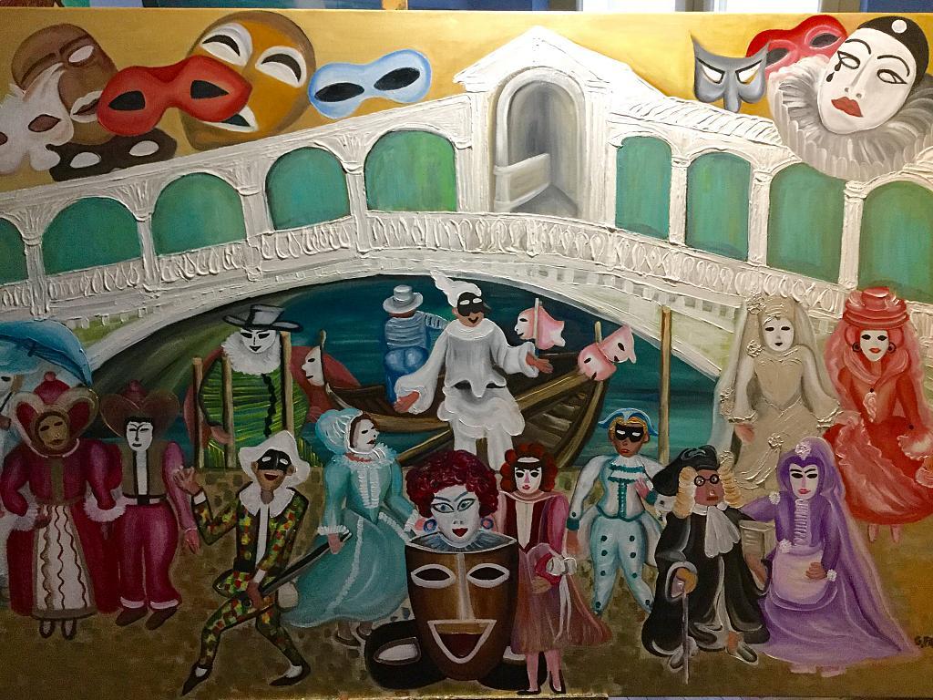 Carnevale a Venezia  vendita quadro pittura  ArtlyNow