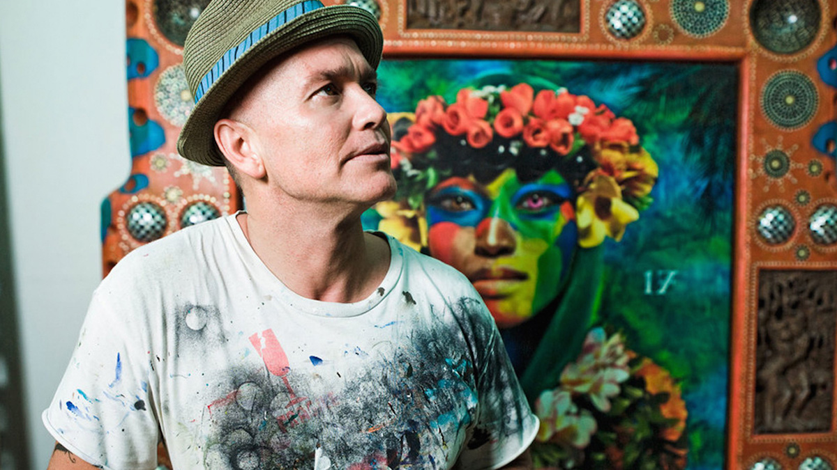 Ashley Bickerton Solo Show Announced For Damien Hirsts Newport Street Gallery  Artlyst