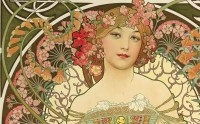 Alphonse Mucha And The Art Nouveau Movement Opens At The