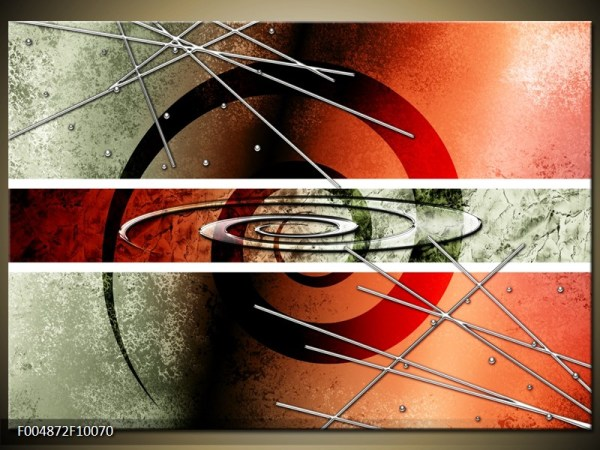 Abstract canvasschilderij 004872 – Spiraal