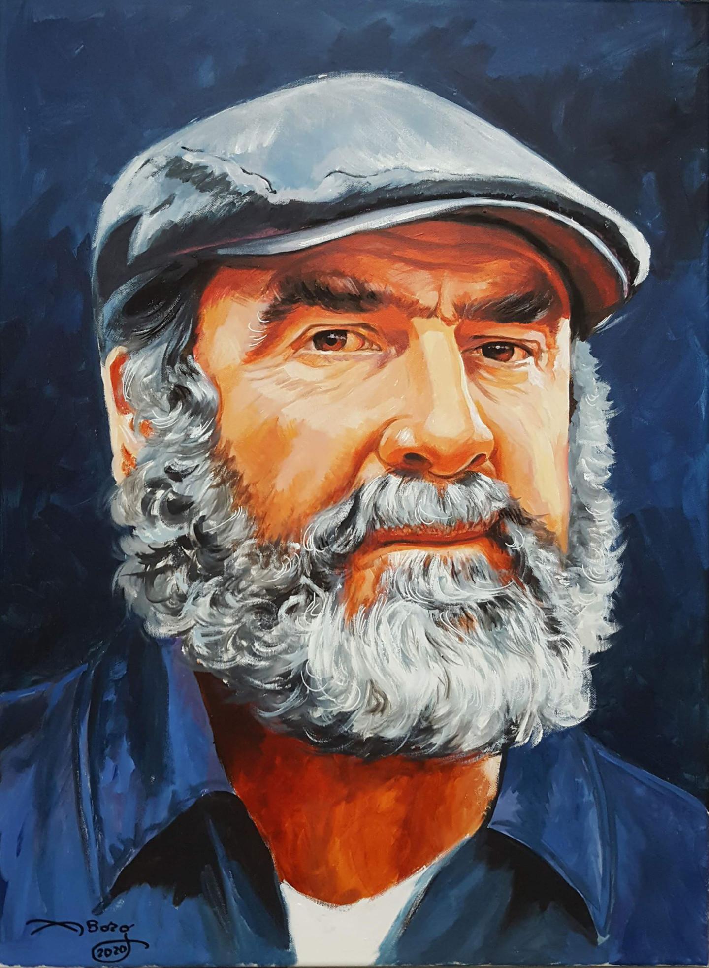  reach sport (2 april 2020) · language  : Eric Cantona Painting By Agnes Borg Burglen Artmajeur