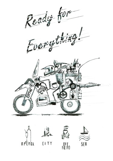 Bmw Gs Drawing